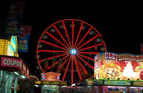 ferris wheel at carnival